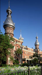 Historic University of Tampa campus